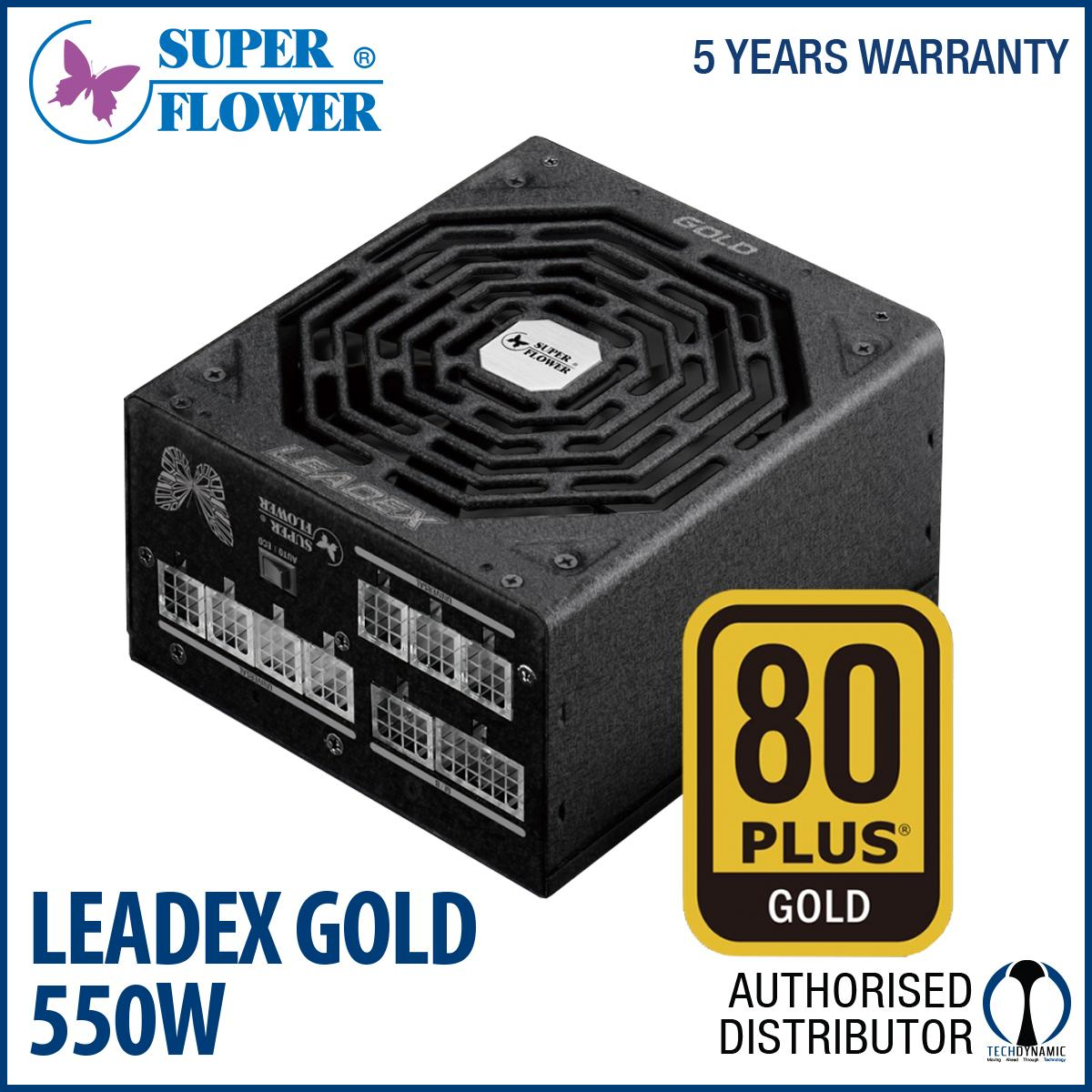 Compare Price Superflower Leadex Gold 90 Full Modular 550W Superflower On Singapore