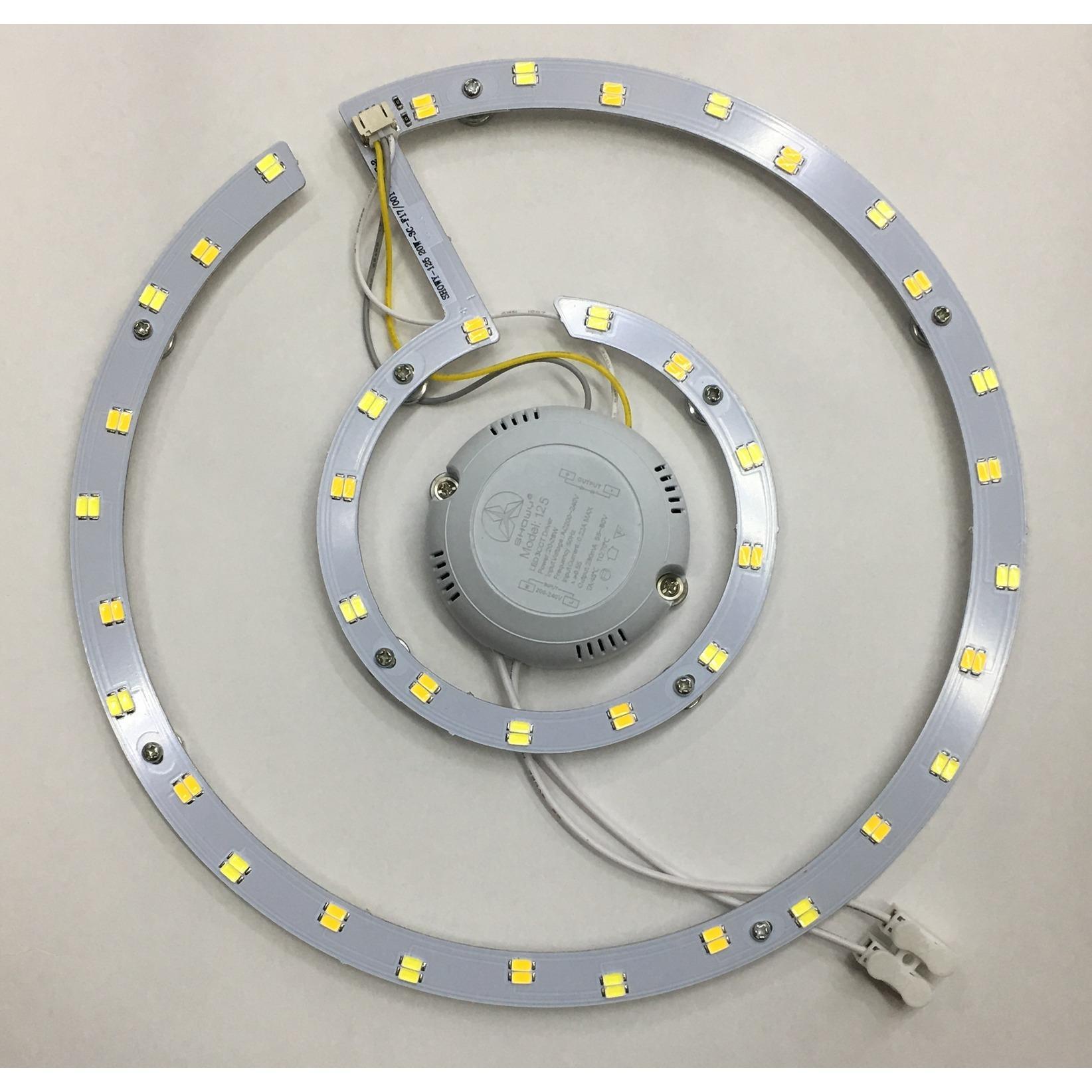 SHOWY 125 20W LED CEILING LAMP BOARD - COOL & WARM