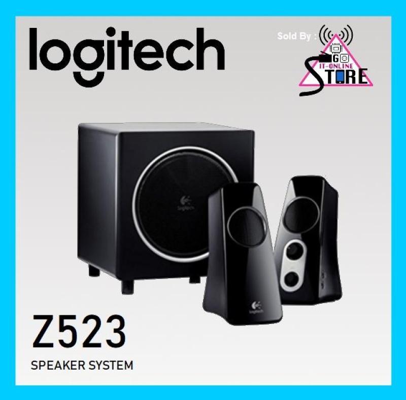 Logitech Speaker System Z523 Black Singapore