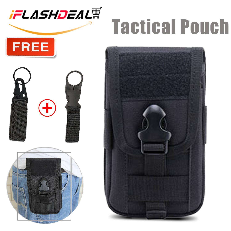 iFlashDeal Tas Pinggang Tempur Taktis Utilitas Tactical Molle Pouch EDC  Pouch Bag Military Belt Bag Gadget 88a59bd5fd