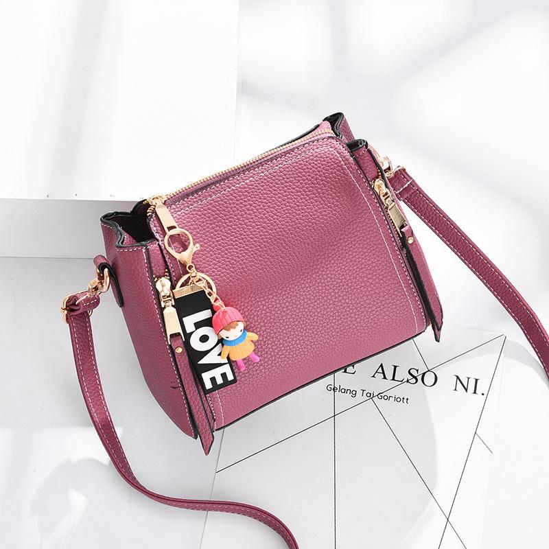 Promo Dj8 Woman Leather Bag New Korean Shoulder Messenger Bag