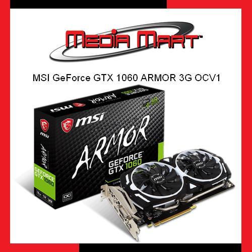 Best Offer Msi Geforce Gtx 1060 Armor 3G Ocv1
