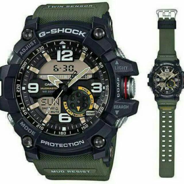 Casio G Shock Gg 1000 1A3 Mudmaster Master Of G Twin Sensor Sport Watch Shopping