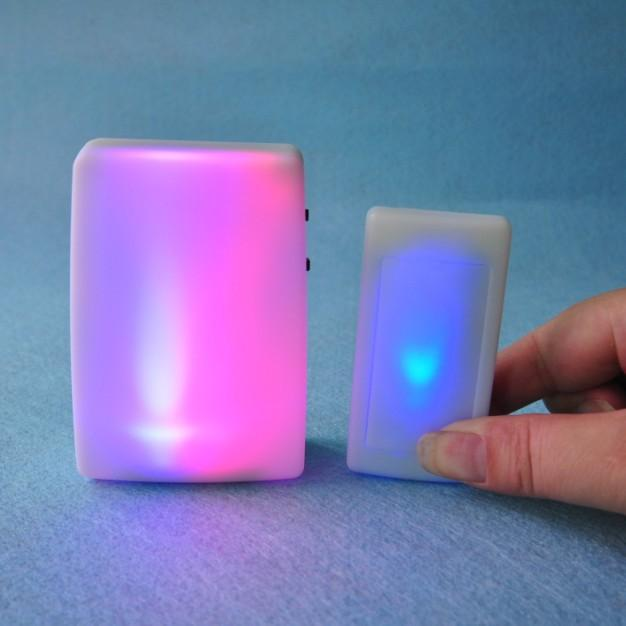 Wireless Strong Music Doorbell Deaf Old People Light Doorbell Deaf Ears Back Doorbell Service Pager  ()