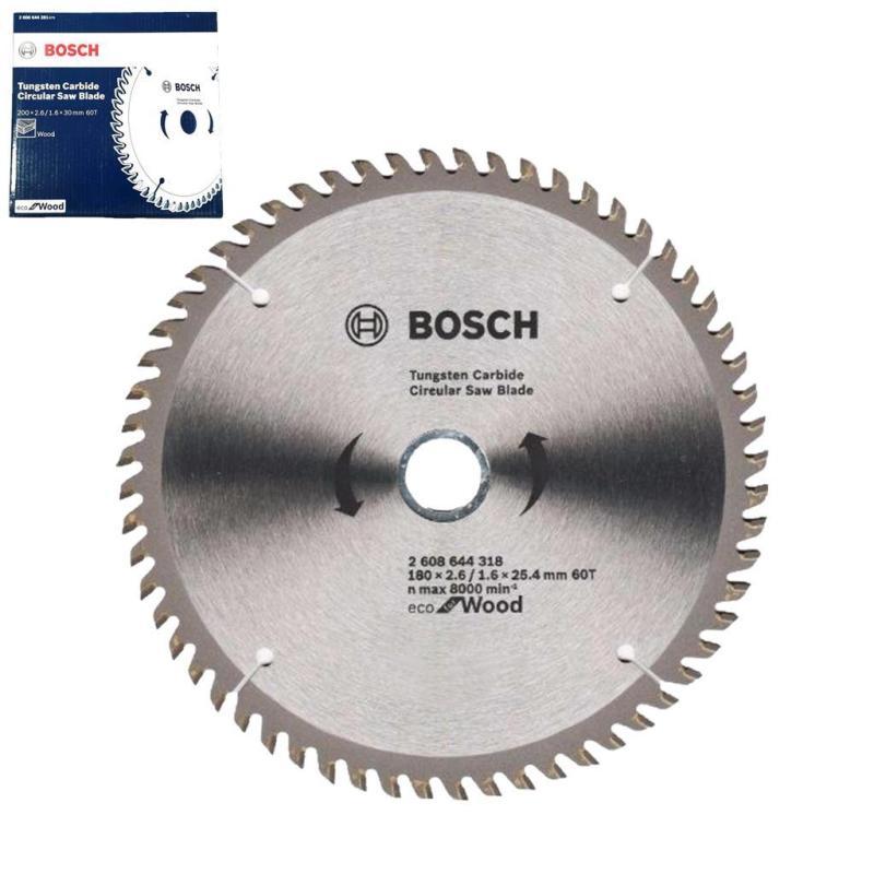 Bosch Eco Wood Circular Saw Blade 60T (180MM)