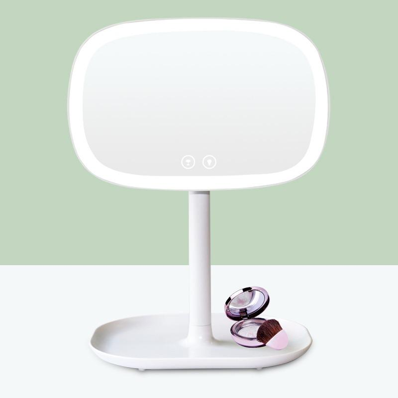 Magical Led Makeup Mirror Lamp Cosmetic Organizer Multifunction Led Mirror Table Lamp Free Shipping
