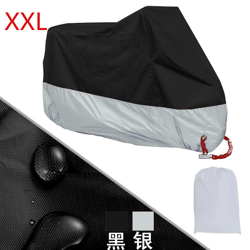 Buy Motorcycle Motorbike Waterproof Cover Protector Case Cover Rain Protection Breathable Black Silver Color Xxl Intl Xuderong Online