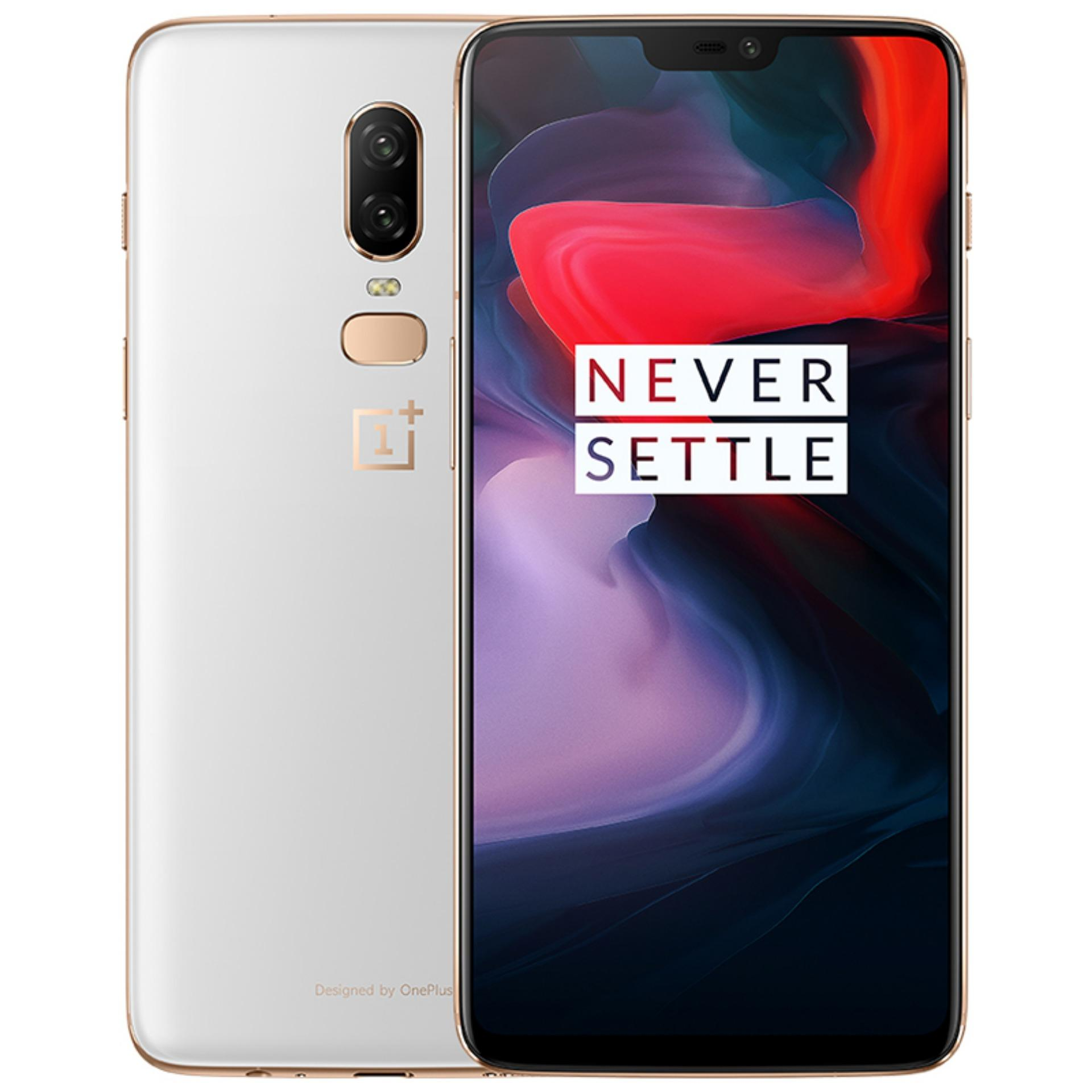 The Cheapest Oneplus 6 Silk White 8Gb Ram 128Gb Rom Brand New Local Set Online