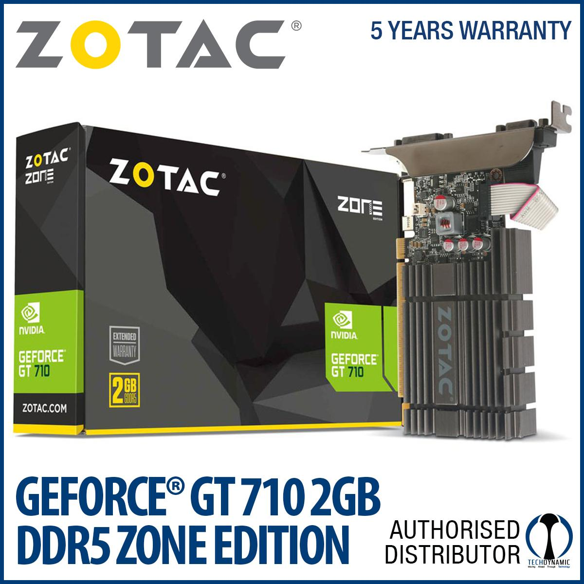 Who Sells Zotac Geforce® Gt 710 2Gb Ddr5 Zone Edition Cheap