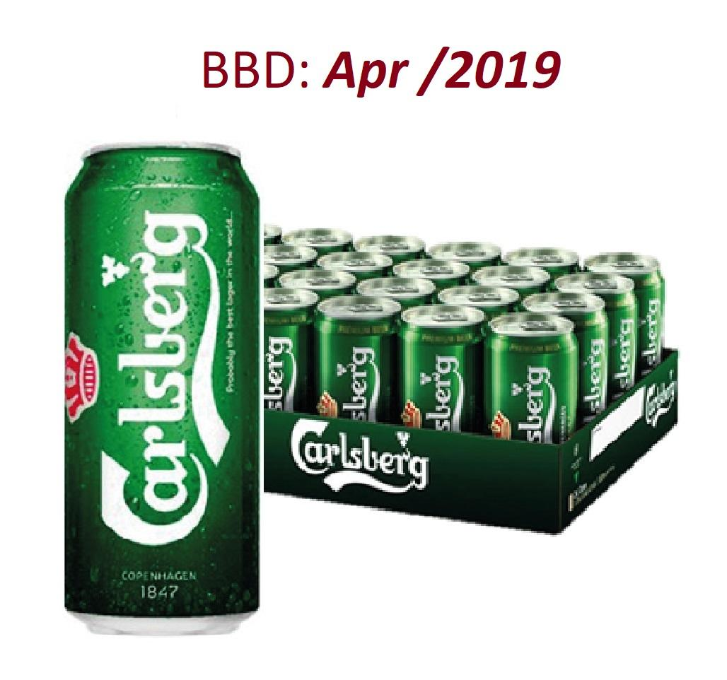 Sale Carlsberg Beer Can 24 X 500Ml Exp Apr 2019 Carlsberg Original