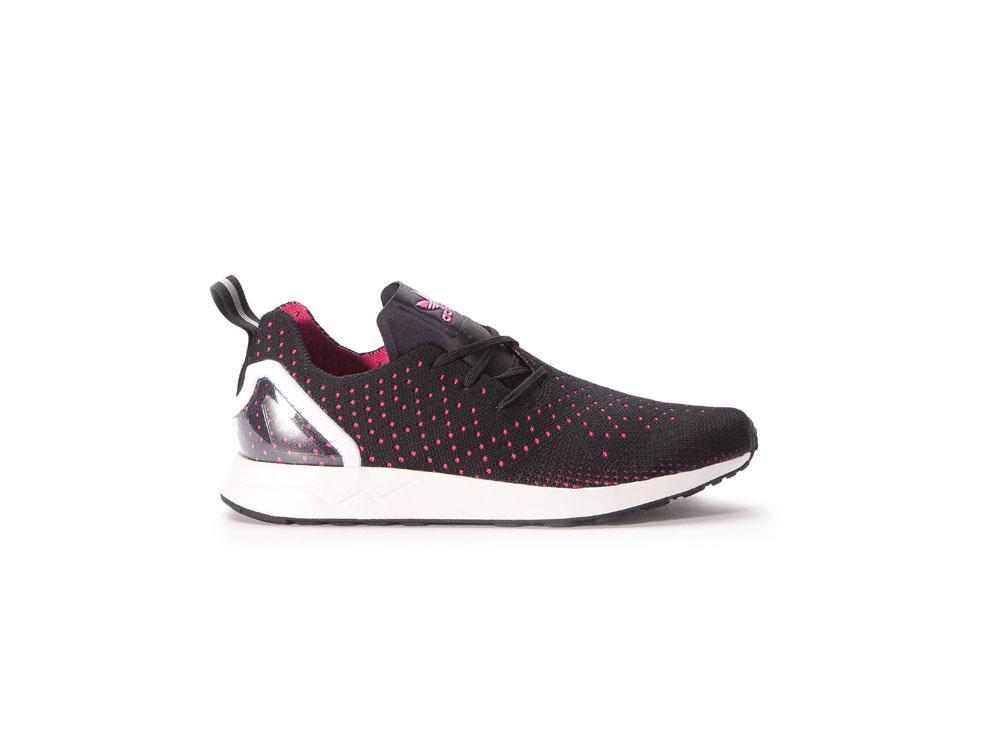 99f1df52f8f44 adidas ZX Flux ADV Asymmetrical PK S79063 Black   Pink