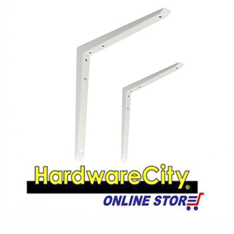 Strong Beam Reinforced Heavy Duty Shelf Support Bracket (Pair) - 250mm x 250mm [HD250]