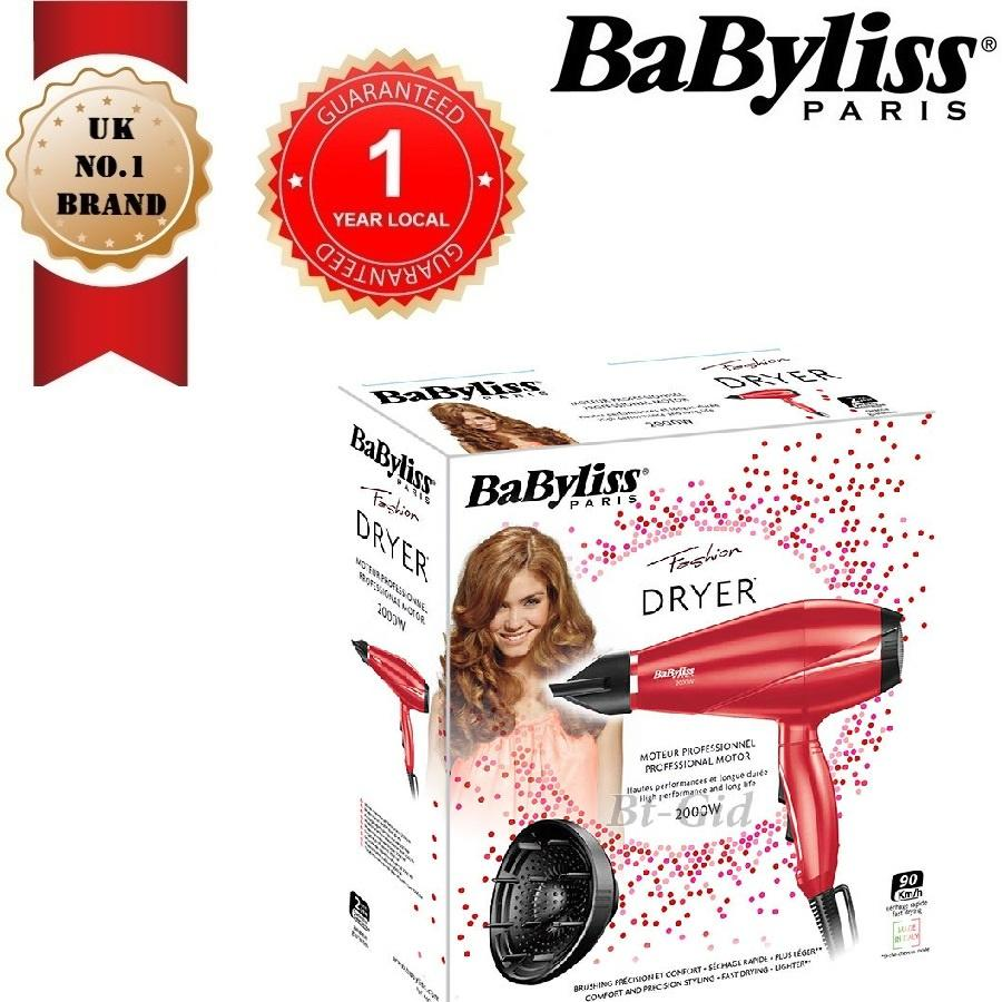 Review Babyliss 6604Rpe Dryer Pro Light 2000 Babyliss