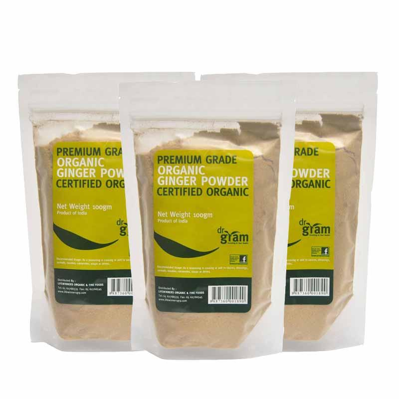 Low Cost Dr Gram Organic Ginger Powder 100G 3 Packets