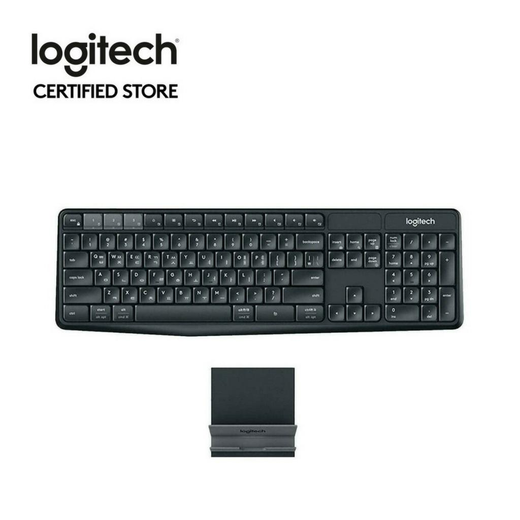 Buy Logitech K375S Multi Device Full Size Wireless And Bluetooth Keyboard And Stand Combo Ios Android Osx Iphone With Logitech Flow Technology