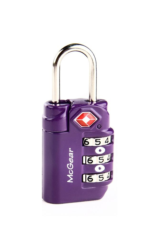 Get The Best Price For Mcgear Mctl801 Tsa 3 Dial Padlock