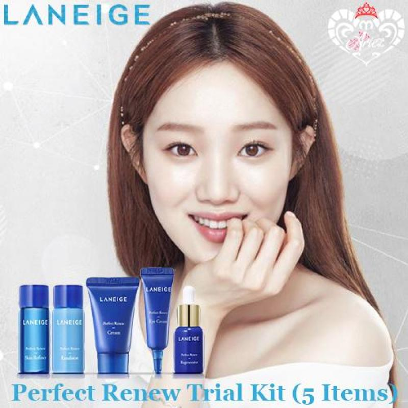 Buy *Ariez* Laneige Perfect Renew Trial Kit (5 Items) (Korea Skincare Travel Sample) Singapore