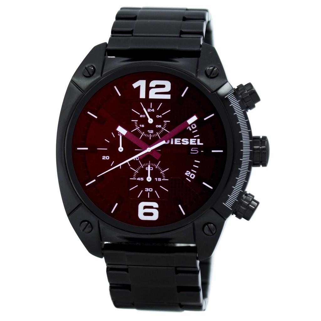 ยี่ห้อนี้ดีไหม  แม่ฮ่องสอน ดีเซล MEGA CHIEF นาฬิกาควอท์ซ DZ4316 Mens นาฬิกา