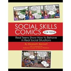 1618 Social Skills Comics For Teens Workbook