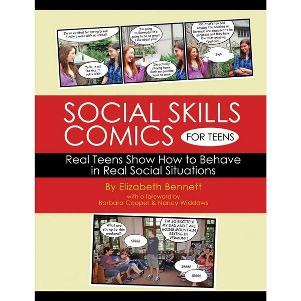 1618 Social Skills Comics For Teens Workbook