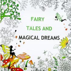 1pcs Fairy Tales And Magical Dreams 2016 New Secret Garden An Inky Treasure Hunt