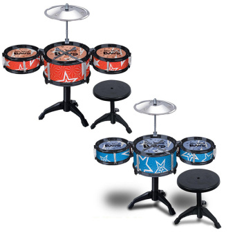 3 Drum Sets Jazz Drum Playset Percussion Musical Instrument Toy Drum for Kids - intl