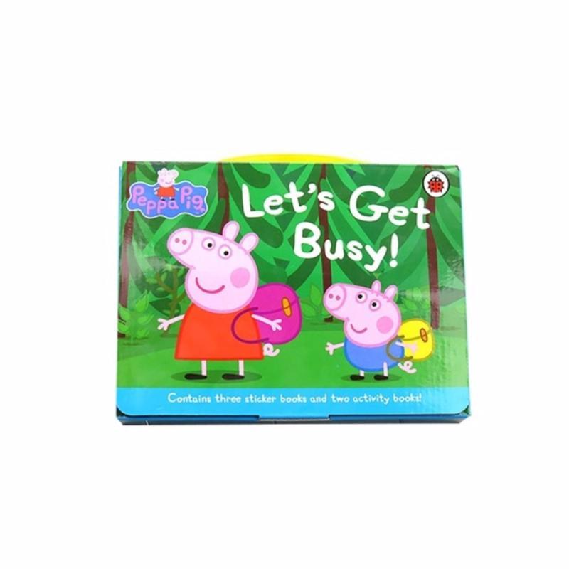 5 Peppa Pig activity books (1 Set)(Multicolor)