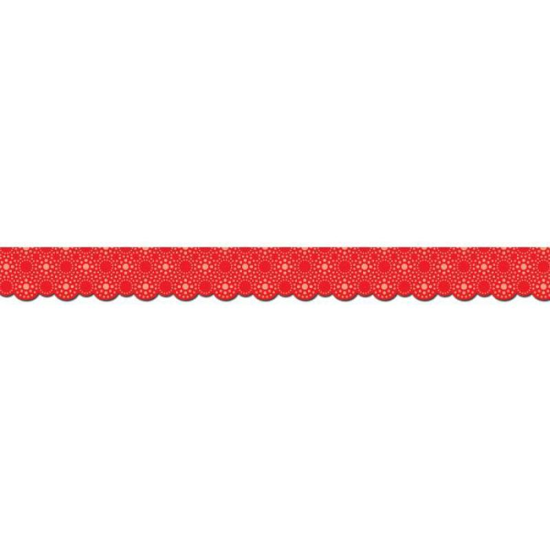CTP1044 Lots of Dots Red Border