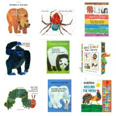 Eric Carle Books (Busy Spider)