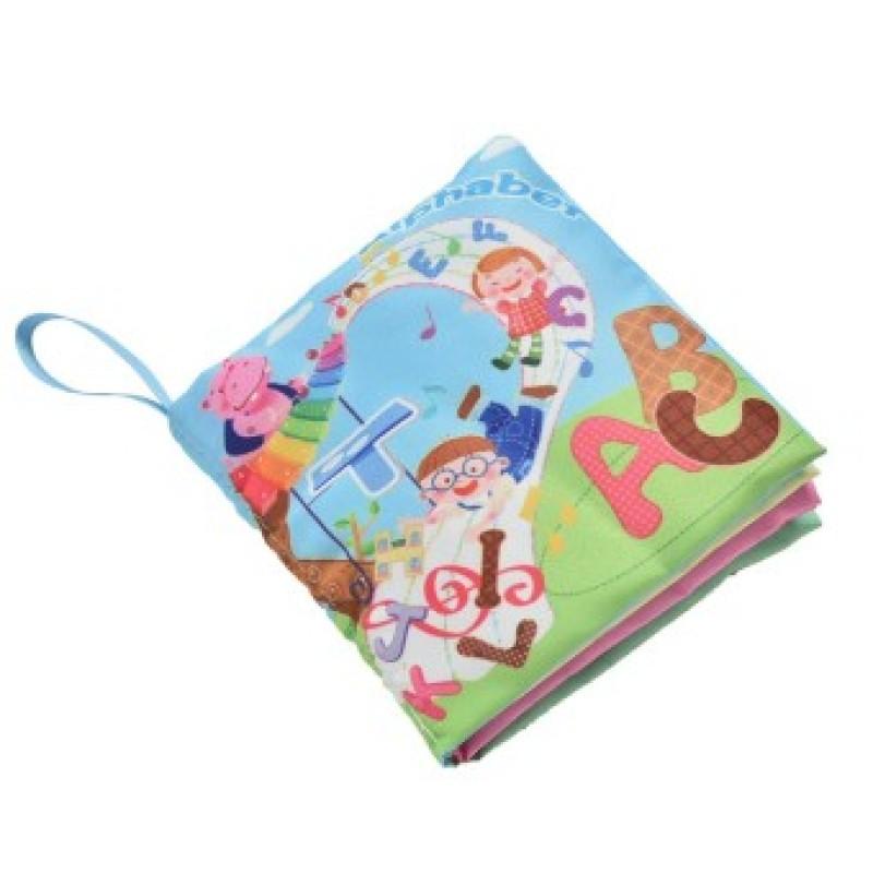Fabric Books Educational Cloth Book Preschool Training Cartoon Baby Toy Alphabet (EXPORT)
