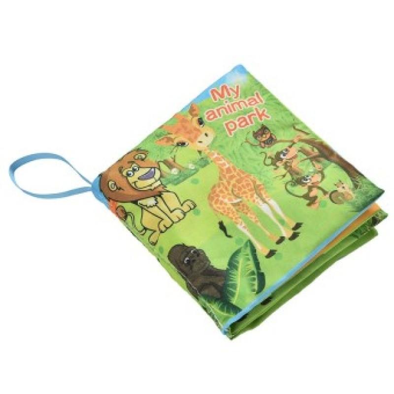 Fabric Books Educational Cloth Book Preschool Training Cartoon Baby Toy Animal park (EXPORT)