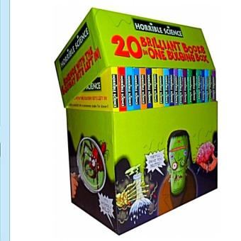 Harga Horrible Science Collection (20 Brilliant Books In One Bulging Box)