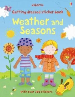 Harga Getting Dressed Sticker Book Weather and Seasons…