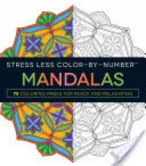 Harga Stress Less Color-by-Number Mandalas