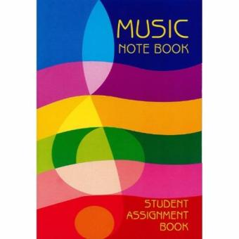 Harga Music Note Book - Student Assignment Book