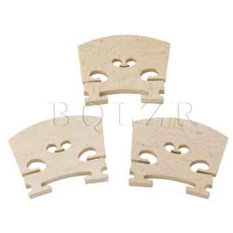 Harga 4/4 violin bridges fine maple Burlywood