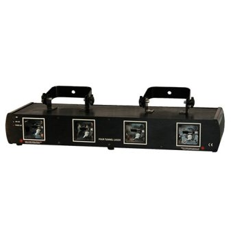 Harga 4 Lens RGYP stage laser light for Disco DJ Pro Party Stage Club (EXPORT)