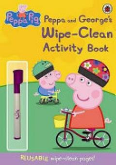 Harga Peppa Pig: Peppa and George's Wipe-clean Activity Book