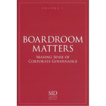 Harga BOARDROOM MATTERS VOL 1: MAKING SENSE OF CORPORATE GOVERNANCE
