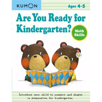Kumon Are You Ready for Kindergarten? Math Skills