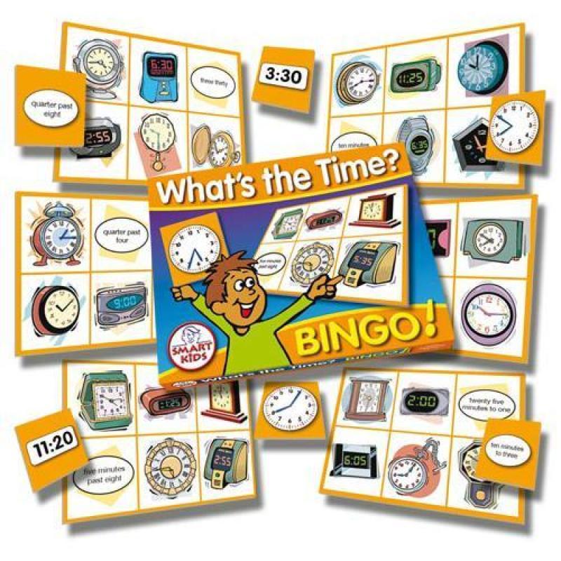 M14 Whats The Time Bingo