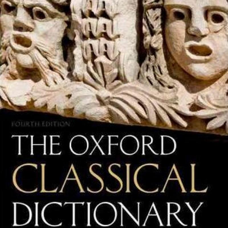 The Oxford Classical Dictionary (Author: , ISBN: 9780199545568)
