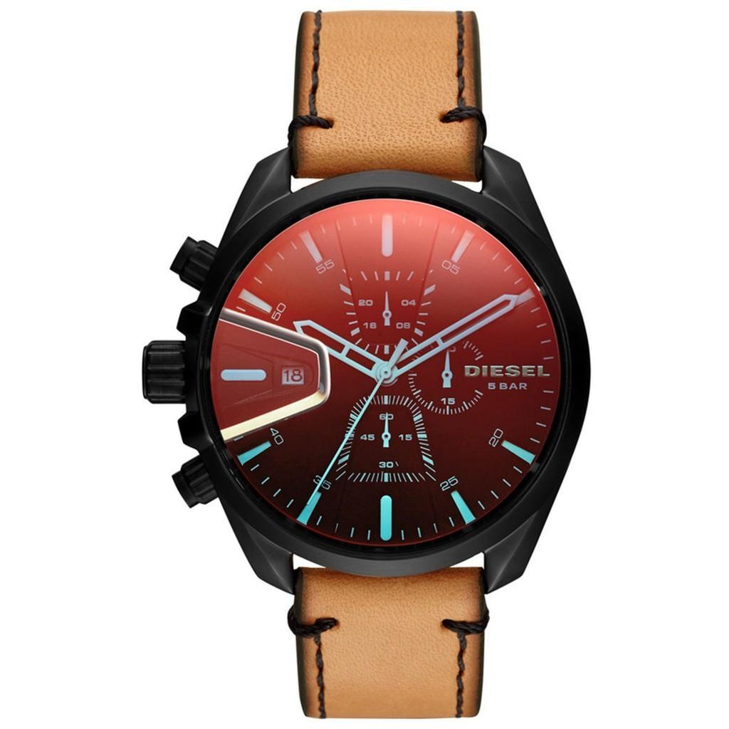 การใช้งาน  พัทลุง ดีเซล Timeframes MS9 นาฬิกาควอตซ์ที่เที่ยงตรง DZ4471 Mens นาฬิกา