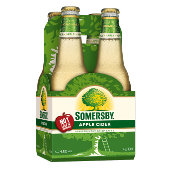 Harga 4 x SOMERSBY APPLE CIDER PINT 330ML