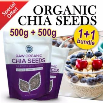 BHP, Raw Organic Chia Seeds from South America, 1kg