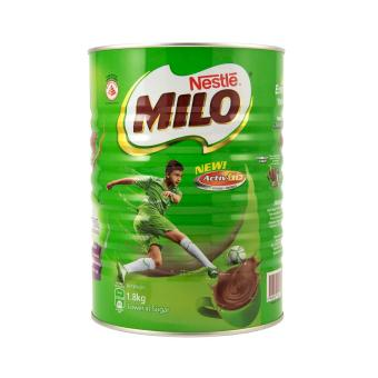 Harga [Bundle of 2 Tins] Milo (Tin) - Nestle 1.8kg x 2