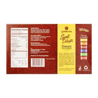 Goldilocks Polvoron (Philippines Shortbread Cookies) 300g (Bundle of 2) - 2