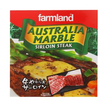 Harga [Bundle of 5 Packets] Farmland Australia Marble Sirloin Steak 5x150g