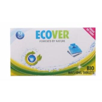 Harga Ecover Powered by Nature Bio Washing Tablets 960g