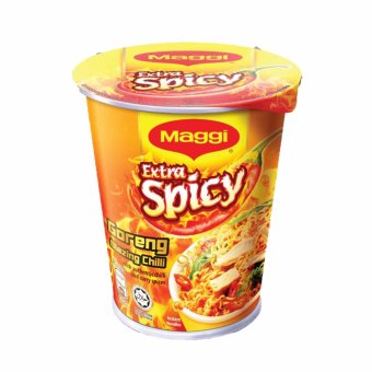 Harga MAGGI Extra Spicy Goreng Blazing Chilli Cup Noodles (64g)